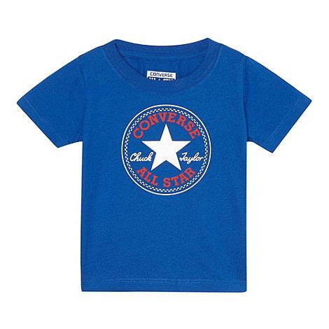 Converse - Babies blue +Chuck Taylor+ patch t-shirt