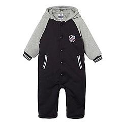 J by Jasper Conran - Designer babies navy collegiate onesie