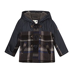 RJR.John Rocha - Babies navy checked coat