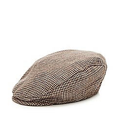 J by Jasper Conran - Designer babies brown tweed flat cap