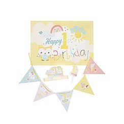 Hallmark - Baby's first birthday party kit