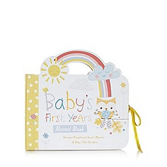 Hallmark - Baby's first years record book