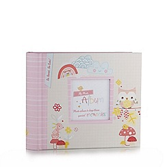 Hallmark - Baby's pink first years photo album