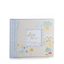 Hallmark - Babies blue patterned photo album