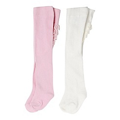 bluezoo - Babies pack of two frill tights