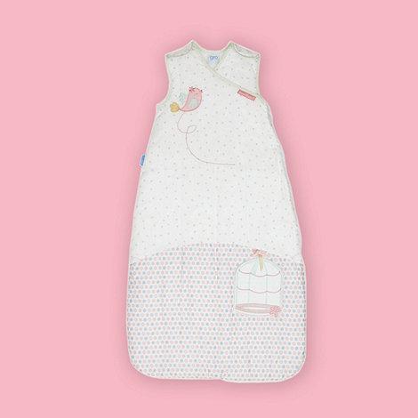 Gro Company - Babies white song bird sleep bag