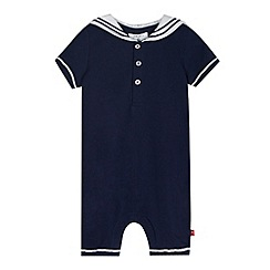 J by Jasper Conran - Designer babies navy sailor romper suit