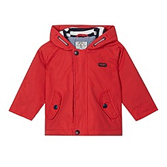 J by Jasper Conran - Designer babies red hooded coat