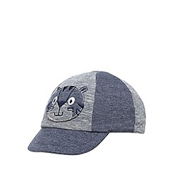 bluezoo - Babies blue tiger applique cap