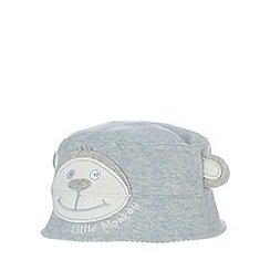 bluezoo - Babies blue monkey bucket hat
