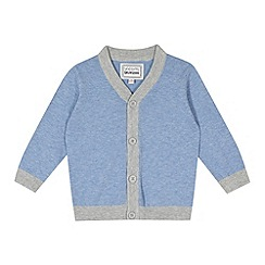 bluezoo - Babies blue tipped cardigan