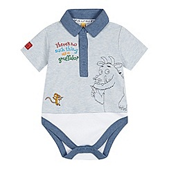 The Gruffalo - Babies blue 'Gruffalo' bodysuit