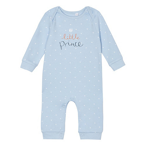 bluezoo - Babies light blue +Little Prince+ sleepsuit
