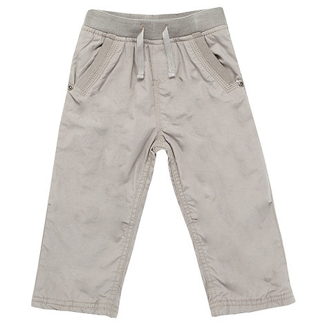 bluezoo - Babies grey ribbed waist trousers