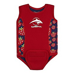 Konfidence - Babies red strawberry 'Babywarma' swimsuit