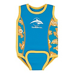 Konfidence - Babies blue clown fish 'Babywarma' swimsuit