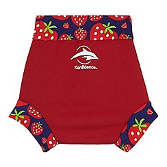 Konfidence - Babies red strawberry 'NeoNappy' swimming nappy