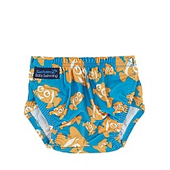 Konfidence - Babies blue clown fish 'NeoNappy' swimming nappy