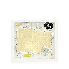Hallmark - Baby's wooden 'Little Birdie' photo frame