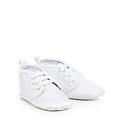 RJR.John Rocha - White lace-up booties