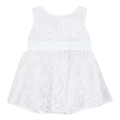 RJR.John Rocha - Baby girls' white bow dress