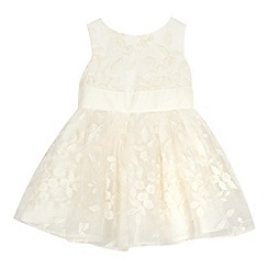 RJR.John Rocha - Baby girls' ivory organza bow dress