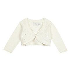 RJR.John Rocha - Babies' cream Christening cardigan