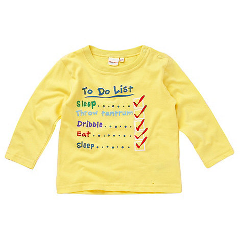 bluezoo - Babies yellow +To Do List+ top