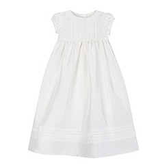 RJR.John Rocha - Baby girls' white silk christening gown