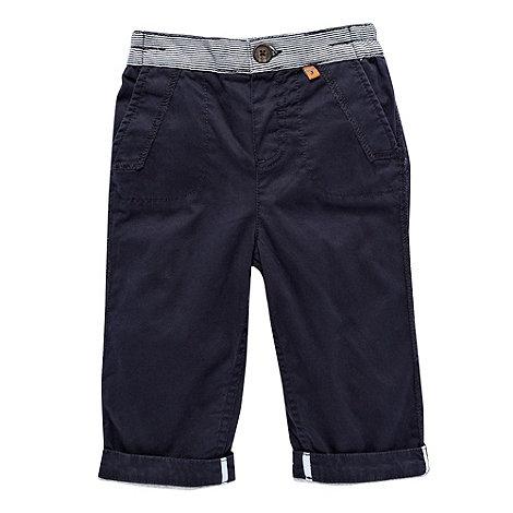 J by Jasper Conran - Designer Babies navy woven trousers