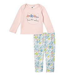 bluezoo - Baby girls' multicoloured top and leggings set