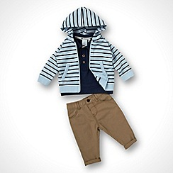J by Jasper Conran - Designer boy's multi jacket, polo top and trousers
