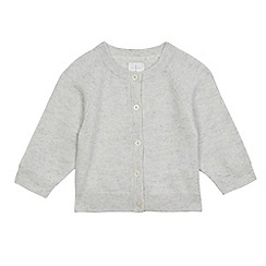 J by Jasper Conran - Baby girls' grey cashmere cardigan