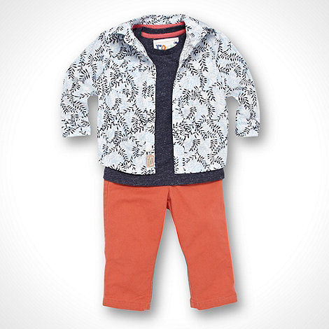 RJR.John Rocha - Designer Babies orange shirt and jeans set