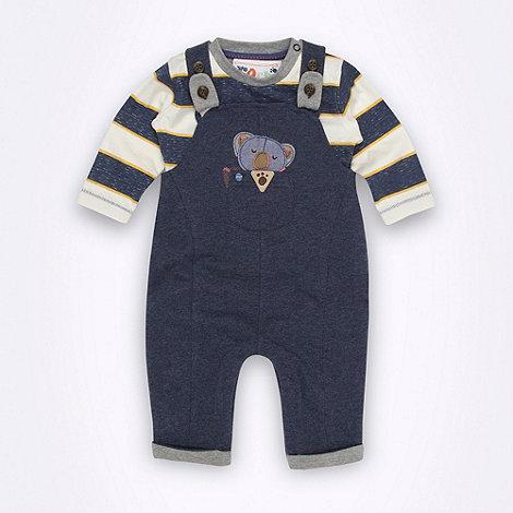 RJR.John Rocha - Designer Babies blue dungarees set