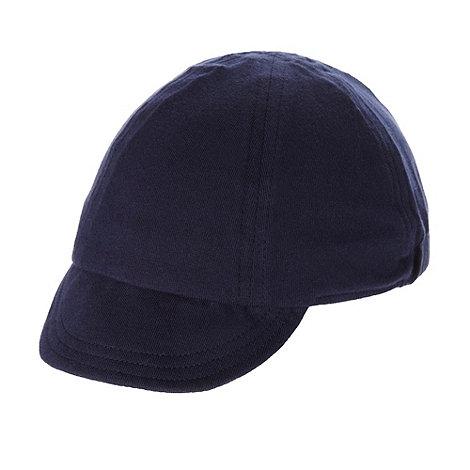 bluezoo - Babies navy jersey baseball cap
