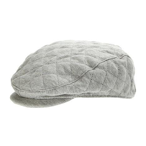 RJR.John Rocha - Designer Babies grey quilted flat cap