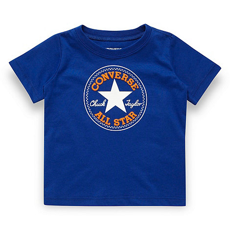 Converse - Babies navy 'All Star' t-shirt