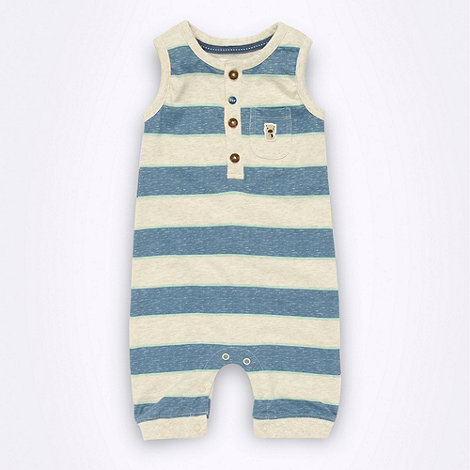 RJR.John Rocha - Designer Babies cream striped romper suit