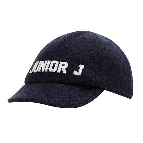 J by Jasper Conran - Designer Babies navy jersey baseball cap