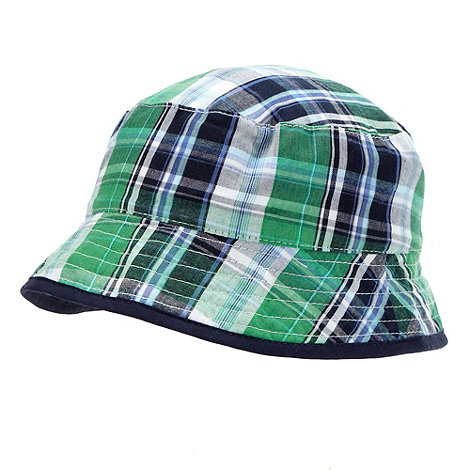 RJR.John Rocha - Designer Babies green checked hat