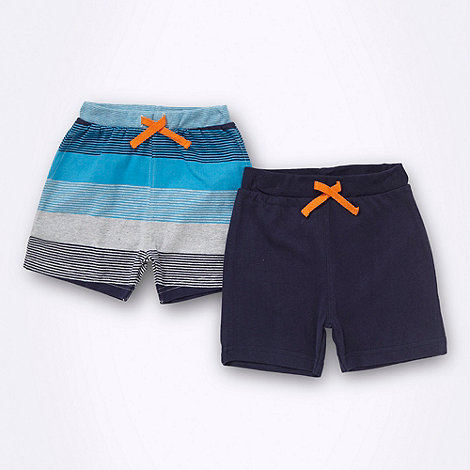 bluezoo - Babies pack of two jersey shorts