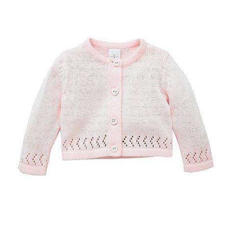 J by Jasper Conran - Designer Babies pink cropped cardigan