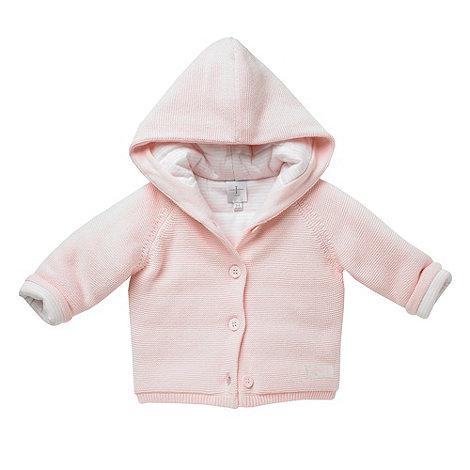 J by Jasper Conran - Designer Babies pink knitted jacket