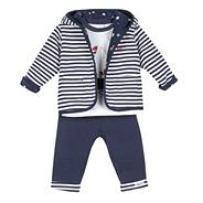 Designer Babies navy three piece set