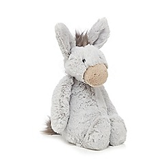 Jellycat - Grey 'Bashful' medium donkey