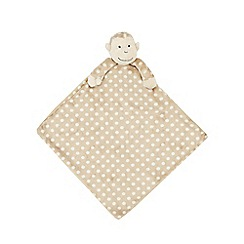 Jellycat - Beige 'Monty' monkey soother