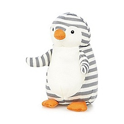 Jellycat - Grey 'Shiver' penguin with chime
