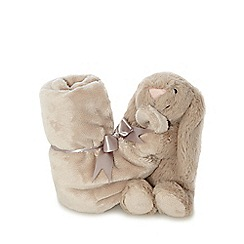 Jelly Cat - Beige 'Bashful' bunny soother
