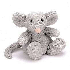 Jelly Kitten - Grey 'Poppet' plush mouse